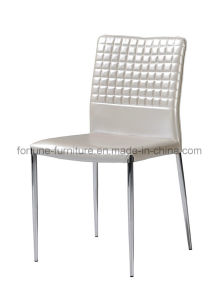 Faux Leather Upholstered Metel Dining Chair (I&D-8034) pictures & photos