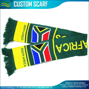 South Africa Jacquard Sport Scarf for Football Fans (M-NF19F10020) pictures & photos