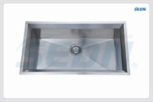 Handmade Single Bowl Stainless Steel Sinks (SA1017) pictures & photos