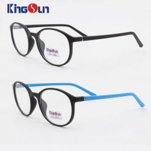 Tr90 Round Frame with Slim Temple Optical pictures & photos