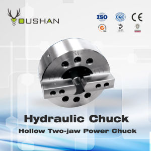 Hollow Two-Jaw Power Chuck pictures & photos