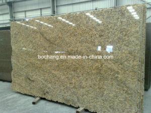 Polished Santa Cecilia Granite Slab for Granite /Kitchencountertop pictures & photos