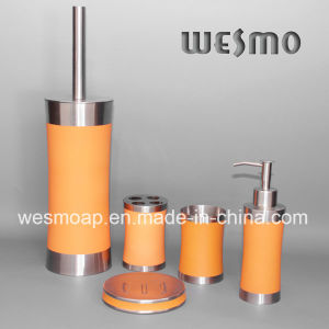 Rubber Oil Coating Stainless Steel Bath Accessory (WBS0509E) pictures & photos