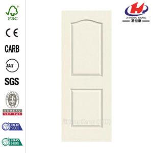 30 in. X 80 in. Woodgrain 2-Panel Painted Door Slab pictures & photos