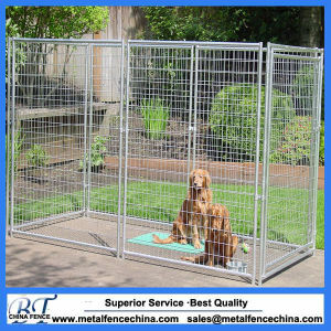 Heavy Duty Galvanized and Powder Coated Large Dog Kennel pictures & photos