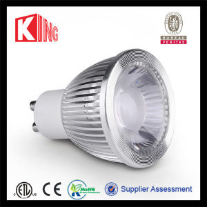 COB Spotlight Warm White 2700k Dimmable GU10 LED pictures & photos