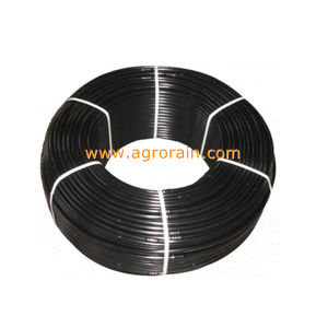 Raw Material Polyethylene Thick Walled Drip Line with Round Dripper Inside pictures & photos