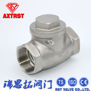200psi Cast Steel NPT Swing Check Valve pictures & photos