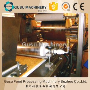 Ce Certified Gusu Full Automatic Museli Chocolate Bars Machine pictures & photos