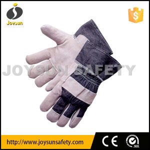 Leather Working Glove Industrial Safety Rigger Gloves (CBA309)