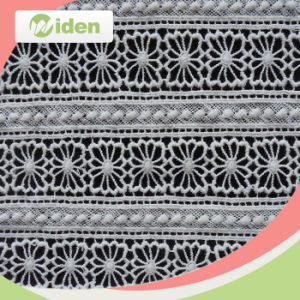 100 Cotton African Chemical Lace Embroidery Fabric pictures & photos