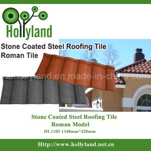 Colorful Stone Coated Metal Roof Sheet (Roman type) pictures & photos