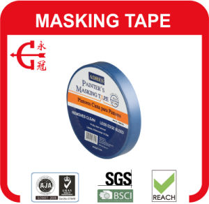 Indoor Blue Painting Masking Tape pictures & photos