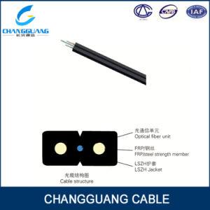 GJXFH FRP Drop 4 Core Single Mode Fiber Cable pictures & photos