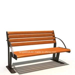 Park Bench, Picnic Table, Cast Iron Feet Wooden Bench, Park Furniture FT-Pb020 pictures & photos