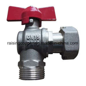 Angle Water Meter Ball Valve pictures & photos