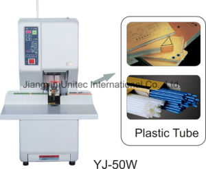 Semi-Automatic Drill and Binding Machine Yj-50W pictures & photos