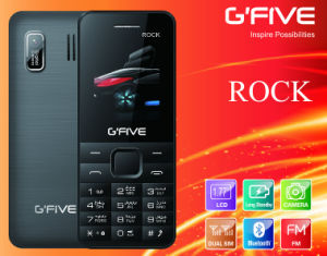 Gfive Rock Feature Phone with FCC, Ce, 3c
