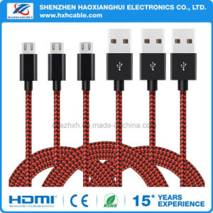 High Speed 2.0 USB to Micro USB Charging Cables for Samsung Phone pictures & photos