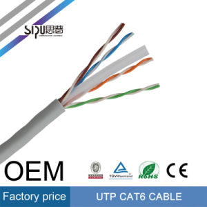 Sipu Factory Price 0.5 CCA UTP CAT6 Network LAN Cable pictures & photos