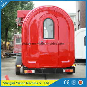 Sliding Glass Window Mobile Food Cart pictures & photos