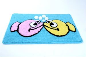 Eco-Friendy Washable High Quality Tufted Rugs for Door/Floor/Bath pictures & photos