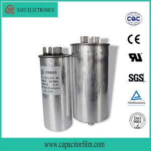 Cbb65 Round Aluminum Case Capacitor pictures & photos