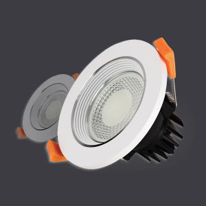 5-Year Warranty Recessed 7W COB LED Downlight with Osram Driver pictures & photos