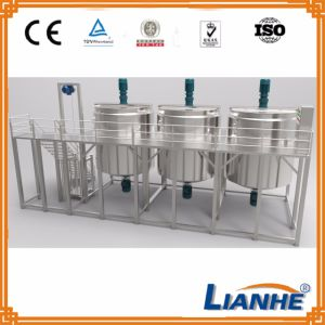 50-5000L High Shear Emulsifying Mixing Tank with Homogenizer pictures & photos