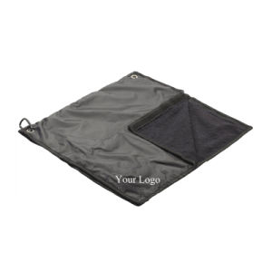 Waterproof Golf Rain Hood Towel pictures & photos