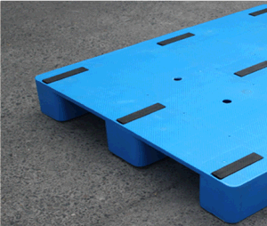 Warehouse Products Plastic Tray 1200*1000*150mm Virgin HDPE Flat Face Plastic Pallet with 3 Runners for EU Standard Pallet pictures & photos