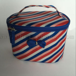 Polyester Large Capacity Cosmetic Bag pictures & photos