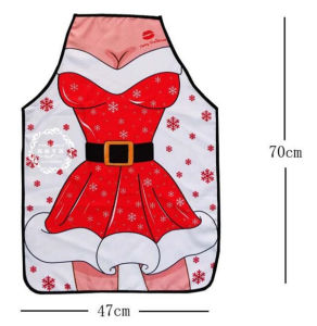 2016 New Designed Lady Sexy Christmas Apron (80014) pictures & photos