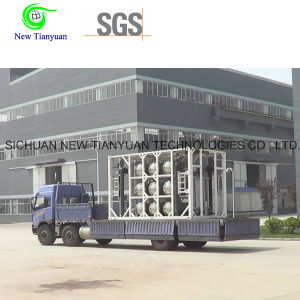 LNG Liquefied Natural Gas Meidum Steel Dewar Cylinder