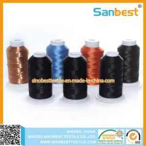 Chinese Factory Embroidery Thread on Small Reels pictures & photos