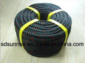Green Gray PE Rope Made From Recycled Material pictures & photos
