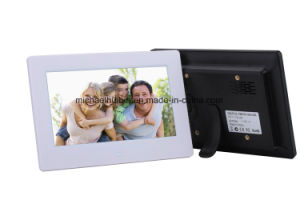 New Design 7inch TFT LCD Screen Digital Photo Frame (HB-DPF707A) pictures & photos