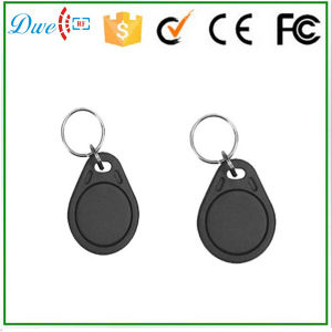 125kHz with Em4100 Chipset Round RFID Key Tag for Door Access Control pictures & photos