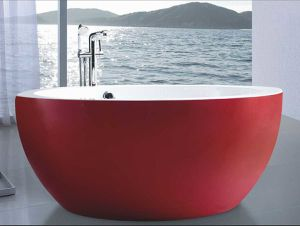 1500mm Round Free Standing Bathtub (AT-9012A) pictures & photos