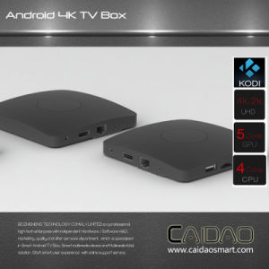 New Arrival 2.4G/5.8g Dual Band WiFi Bt Android 6.0 Smart Game TV Box Based on Cortex A53 64bit Processor. 3GB+8GB pictures & photos