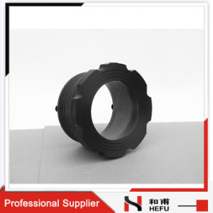 Electric Melting Black Cheap Fuel Exhaust Adapter Plastic Pipe Flange pictures & photos