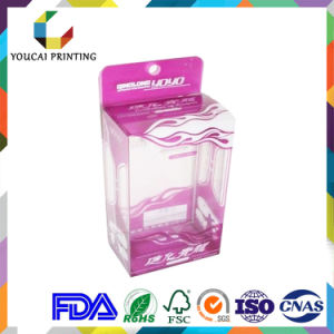 Quality Warranty High End Plastic Pet Acetate Box for Cosmetic Products pictures & photos
