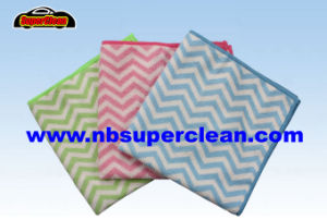 Microfiber Kitchen Cleaning Towel, Car Cleaning Cloth (CN3653-1) pictures & photos