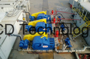 Land Drilling Rig 3nb1300c Electric Driving Pump Device pictures & photos