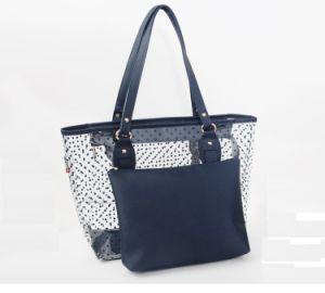 Fashion Waterproof PVC Beach Bag Beach Handbag Shopping Bag with Inner Pouch pictures & photos