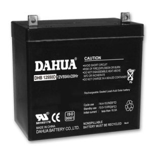 12V 55ah Deep Cycle Solar Battery for Solar Systems pictures & photos