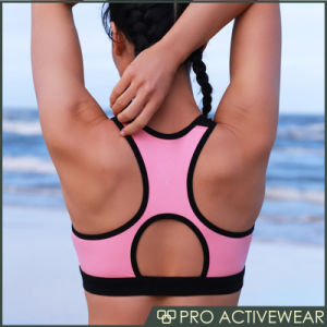 Compression Sport Gym Wear Push up Sport Bra pictures & photos