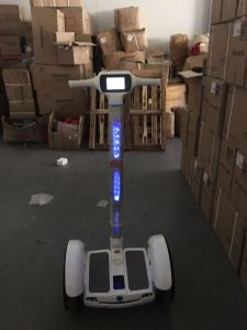 15 Inches Two Wheels Electric Balance Golf Scooter with LED Light
