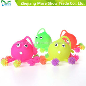 Light up Soft Plastic Spike Octopus Ball Kid Toy pictures & photos