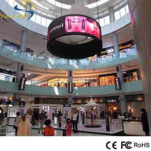 Full Color SMD P7.62 Indoor Flexible LED Display for Advertising Signage